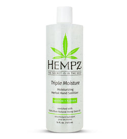 Triple Moisture Moisturizing Herbal Hand Sanitizer 16 oz-Limited edition