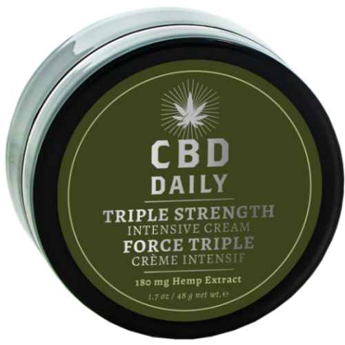 CBD Triple Strength Intensive Cream 1.7 oz - Hair Cosmopolitan