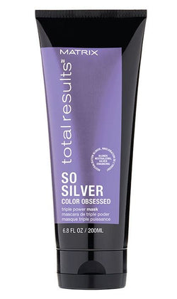 TOTAL RESULTS SO SILVER TRIPLE POWER TONING HAIR MASK FOR BLONDE AND SILVER HAIR - Hair Cosmopolitan