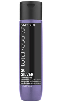 TOTAL RESULTS SO SILVER PURPLE CONDITIONER FOR BLONDE AND SILVER HAIR - Hair Cosmopolitan