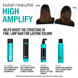 TOTAL RESULTS HIGH AMPLIFY FOAM VOLUMIZER Full Bodifying Mousse - Hair Cosmopolitan