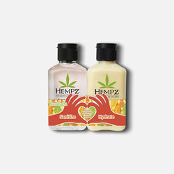 Sweet Pineapple & Honey Melon Sanitizer & Lotion Duo