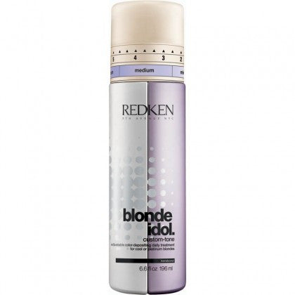Redken Blonde Idol Custom Tone Conditioner - Violet for Cool Blondes - Hair Cosmopolitan