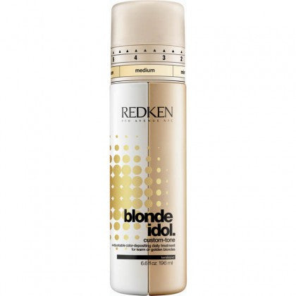 Redken Blonde Idol Custom Tone Conditioner- Gold for Warm Blondes - Hair Cosmopolitan