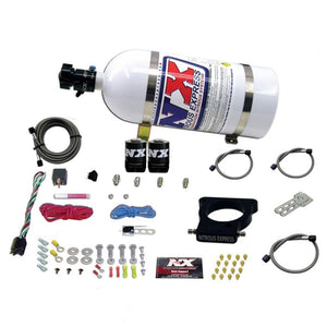 Nitrous Express GM LS 78mm 3-Bolt Nitrous Plate Kit (50-350HP) w/10lb Bottle