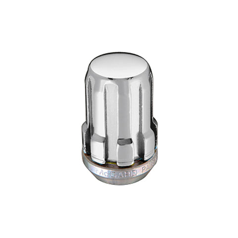 McGard SplineDrive Lug Nut (Cone Seat) M12X1.5 / 1.24in. Length (4-Pack) - Chrome (Req. Tool)