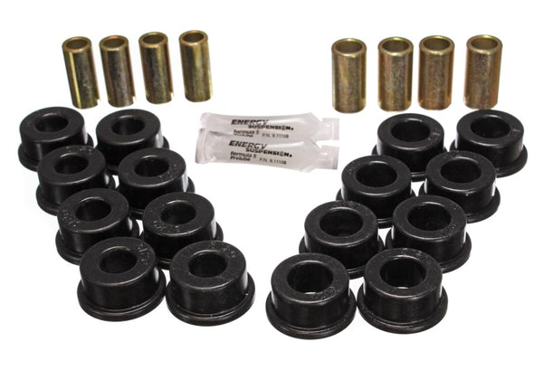 Energy Suspension 84-95 Chevy Corvette Black Rear End Control Arm Bushing Set