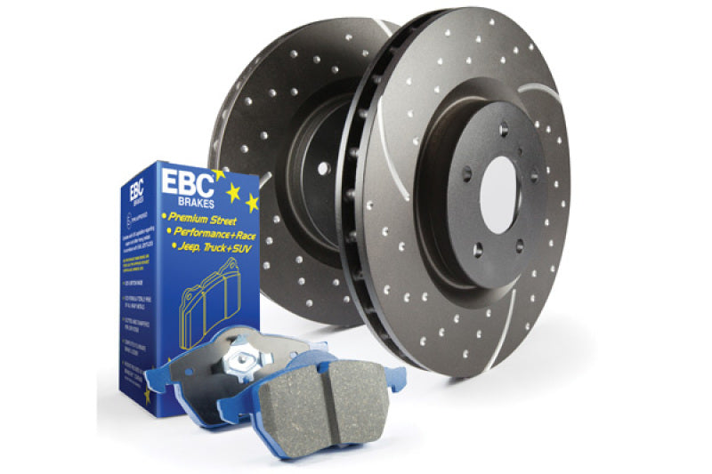 EBC S6 Kits Bluestuff and GD Rotors
