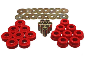 Energy Suspension Gm Body Mount Set W/Hardware - Red