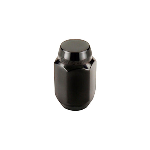 McGard Hex Lug Nut (Cone Seat) M12X1.5 / 13/16 Hex / 1.5in. Length (4-pack) - Black