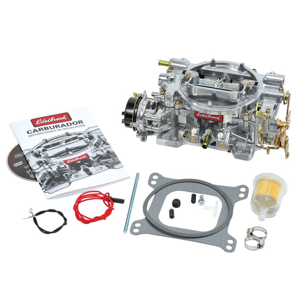 Edelbrock Carburetor Performer Series 4-Barrel 600 CFM Electric Choke Satin Finish