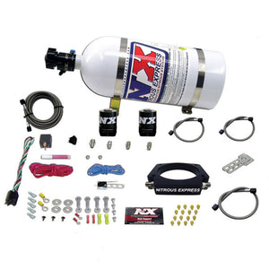 Nitrous Express GM LS 102mm Nitrous Plate Kit (50-400HP) w/10lb Bottle