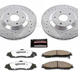 Power Stop 2004 Cadillac XLR Front Z26 Street Warrior Brake Kit
