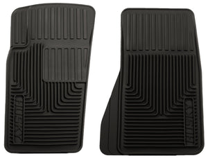 Husky Liners 07-11 Jeep Wrangler (Base/Unlimited)/02-07 Liberty Heavy Duty Black Front Floor Mats