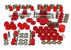 Energy Suspension 63-82 Chevrolet Corvette Red Hyper-flex Master Bushing Set
