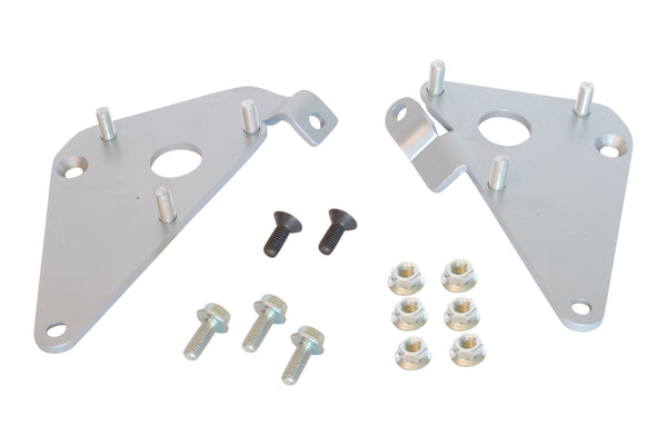 1984-1996 Corvette Engine Mount Adapter Plates with Fasteners