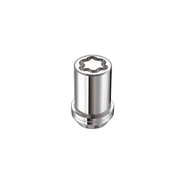 McGard Wheel Lock Nut Set - 4pk. (Tuner / Cone Seat) M12X1.5 / 13/16 Hex / 1.24in. Length - Chrome