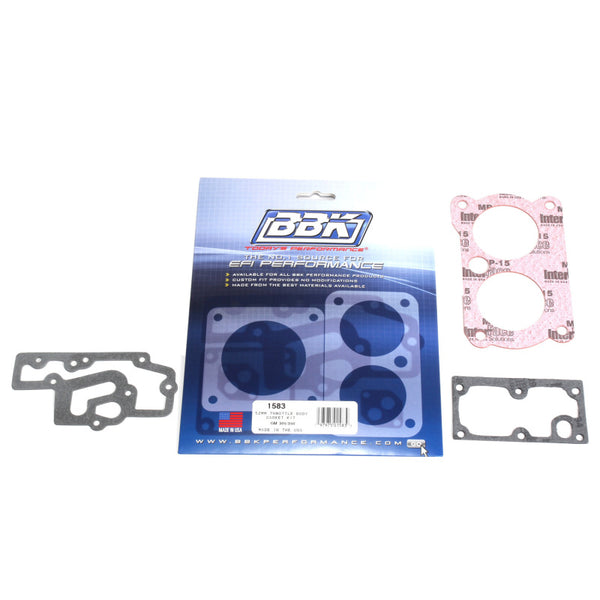 BBK 85-97 GM 305350 LT1 Twin 52mm Throttle Body Gasket Kit