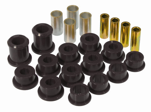 Prothane 84-96 Chevy Corvette Front Control Arm Bushings - Black