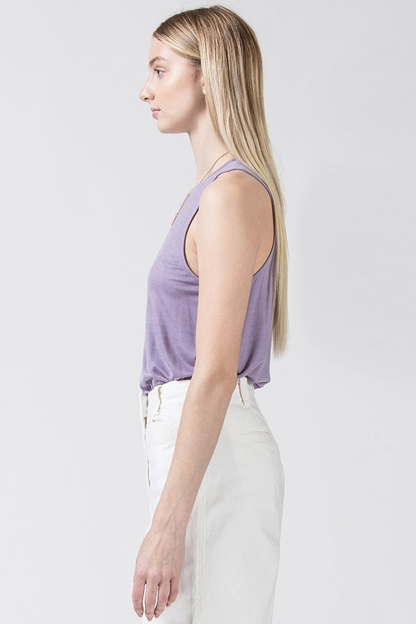 'Get to It' Tank - Lavender