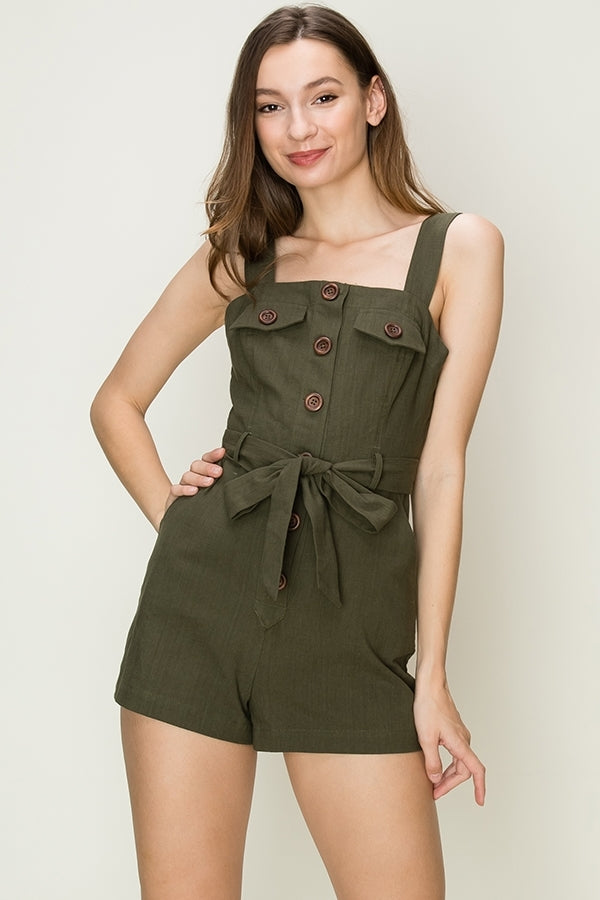 'Somewhere New' Romper