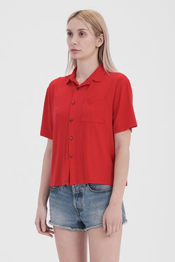'Close to Me' Top - Indie Red