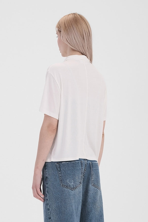 'Close to Me' Top - Off White