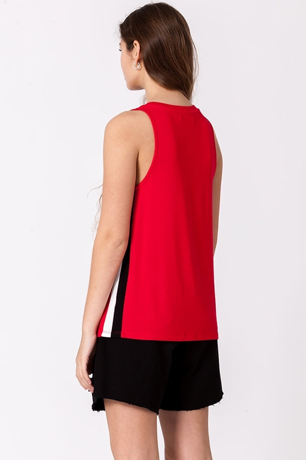 'Chance It' Tank - Red