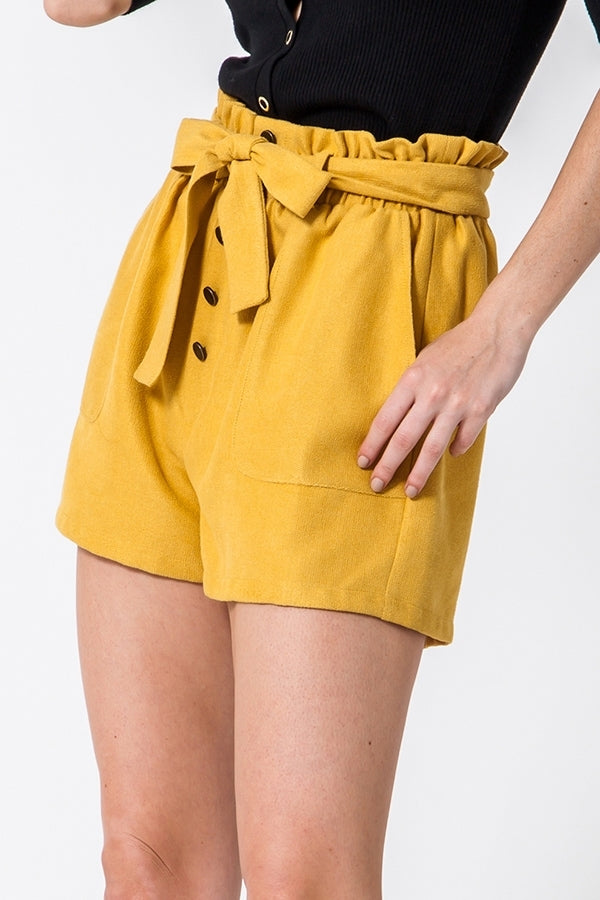 'Wanting Forever' Shorts - Olive