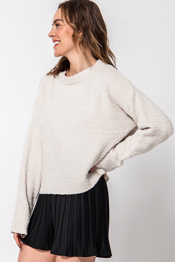 'Calling for You' Sweater - Alpaca