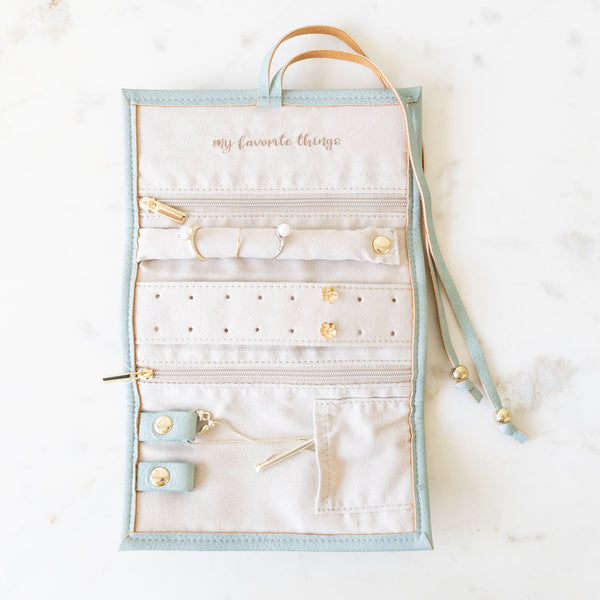 Mint Jewelry Organizer Roll