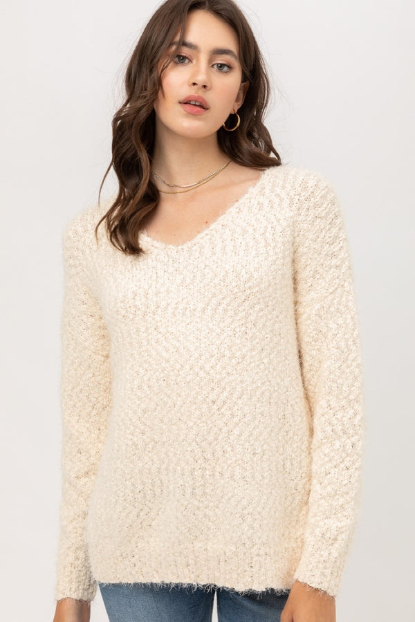 'Everybody's Favorite' Sweater - Cream