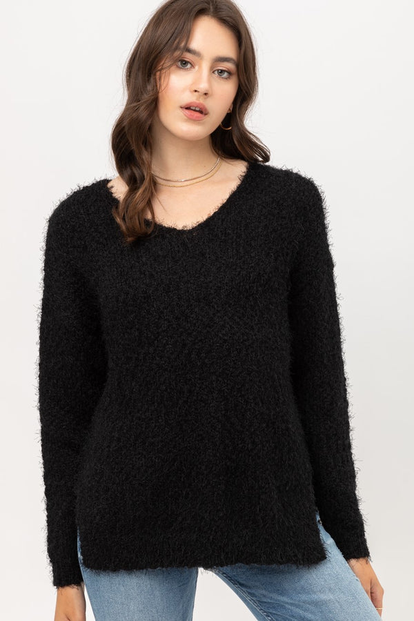 'Everybody's Favorite' Sweater - Black