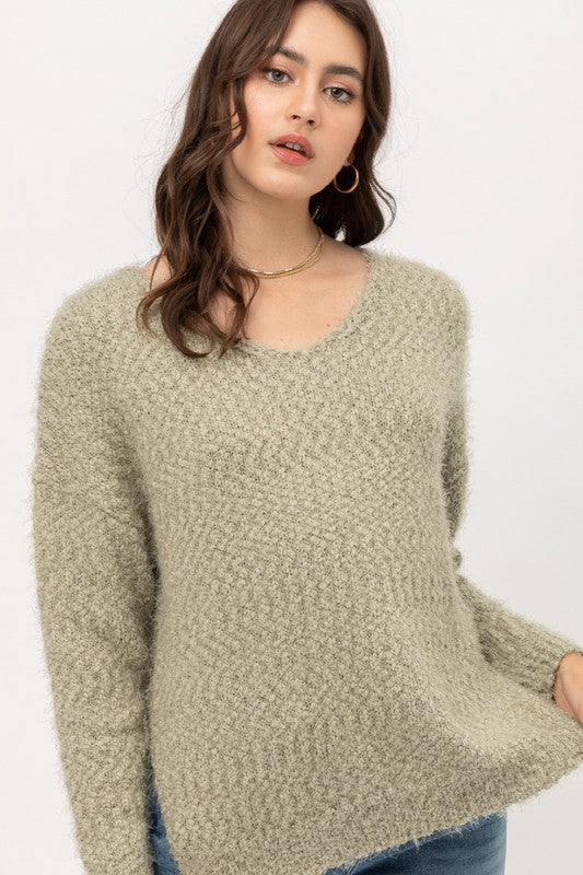 'Everybody's Favorite' Sweater - Moss