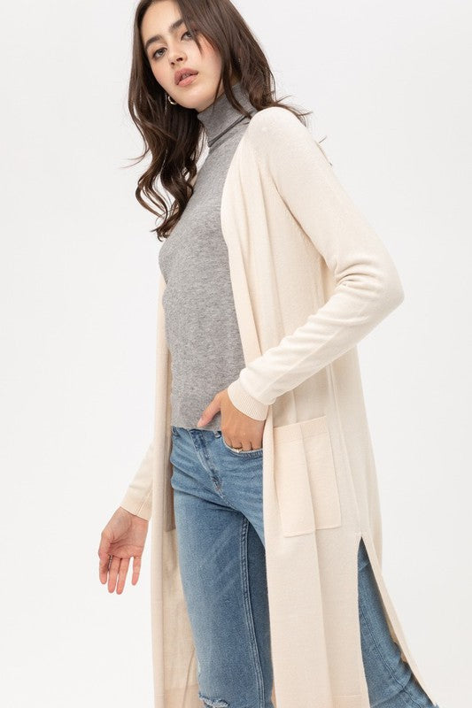 'Cozy Days' Cardigan - Cream