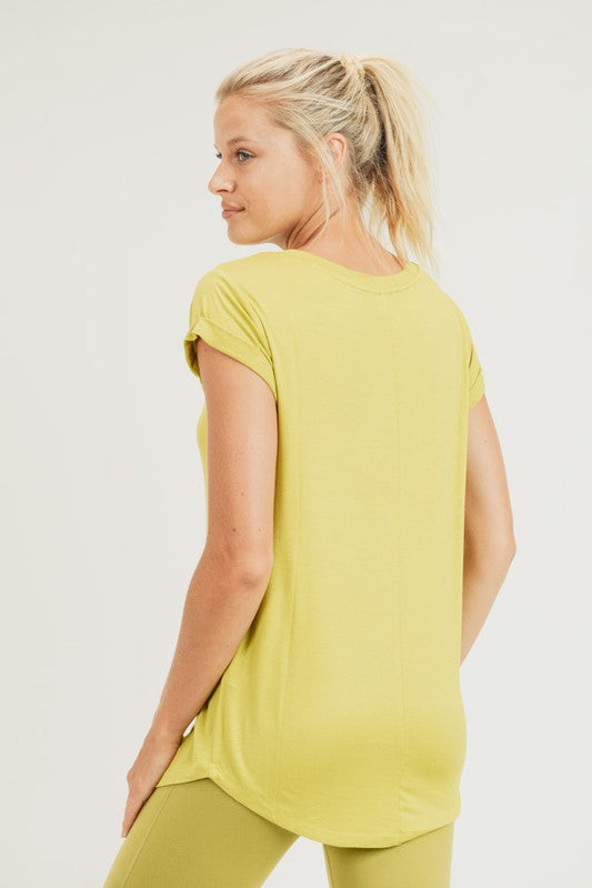 Essential Tee - Lime