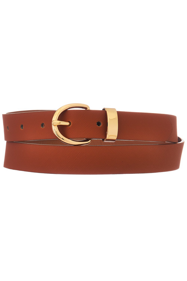 Thin Belt - Cognac
