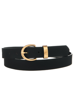 Thin Belt - Black