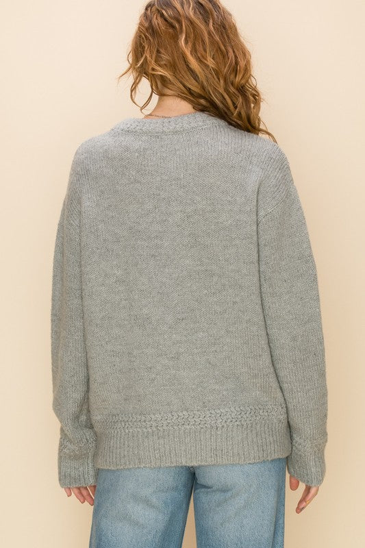'Some Day Soon' Sweater - Heather Gray