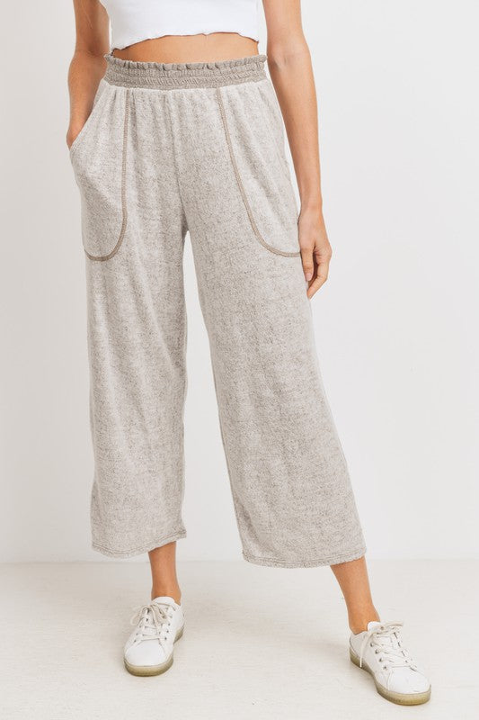 'Casual Times' Pants - Taupe