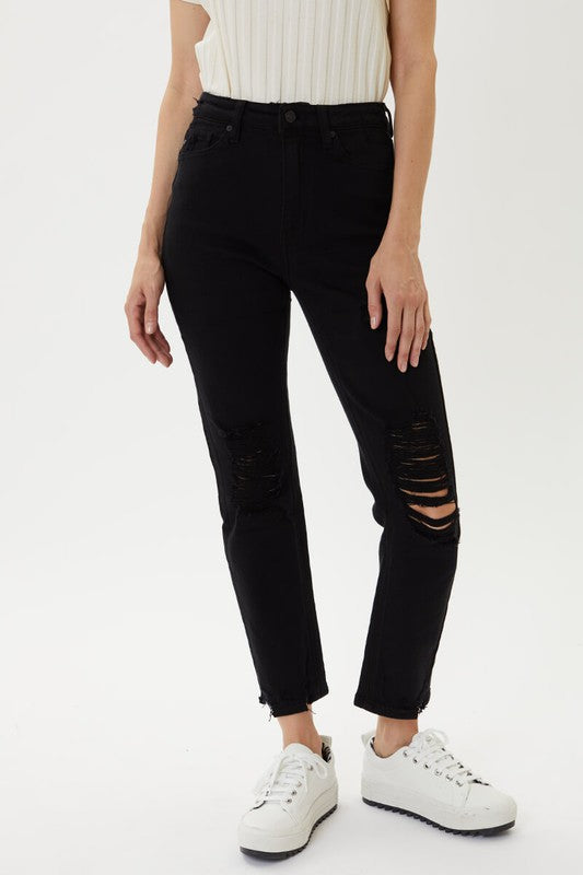 'Come My Way' Jeans - Black