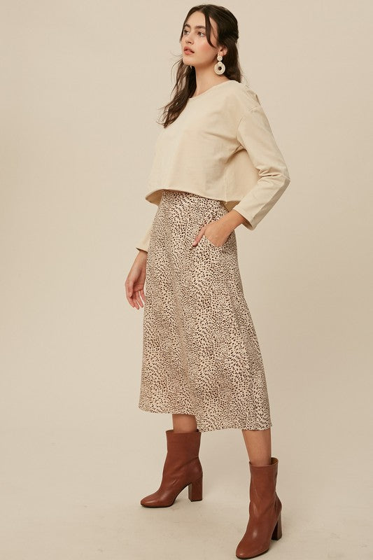 'Talk It Over' Skirt