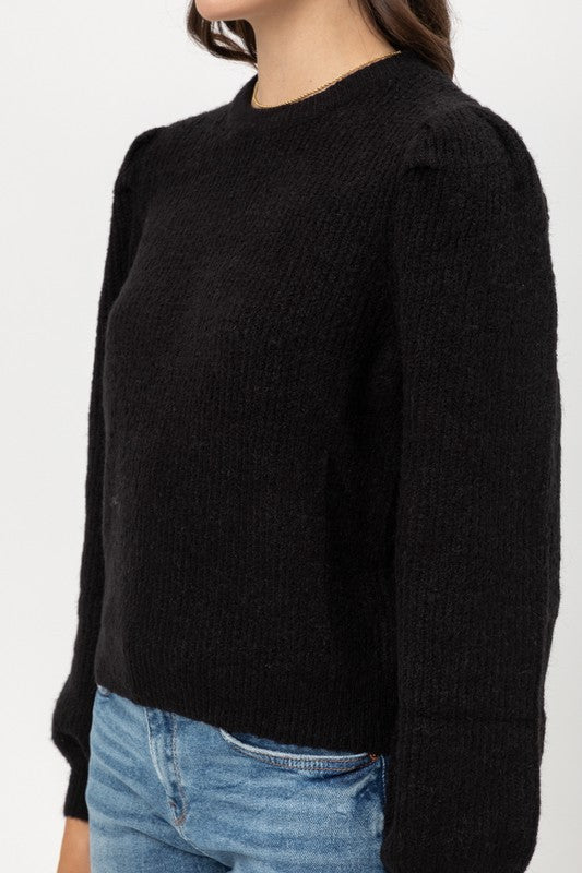Puff Sweater - Black