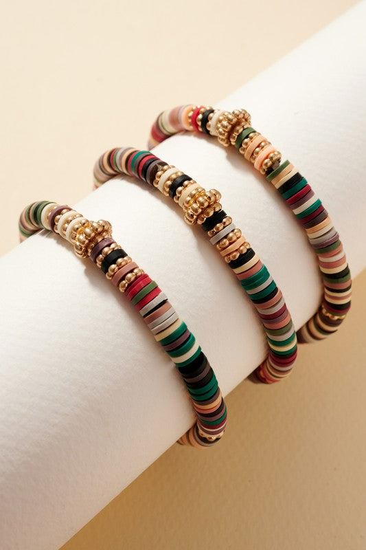 Beaded Bracelet Set - Multi