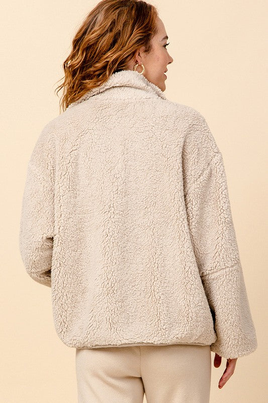 'Sweetest Of All' Jacket - Taupe