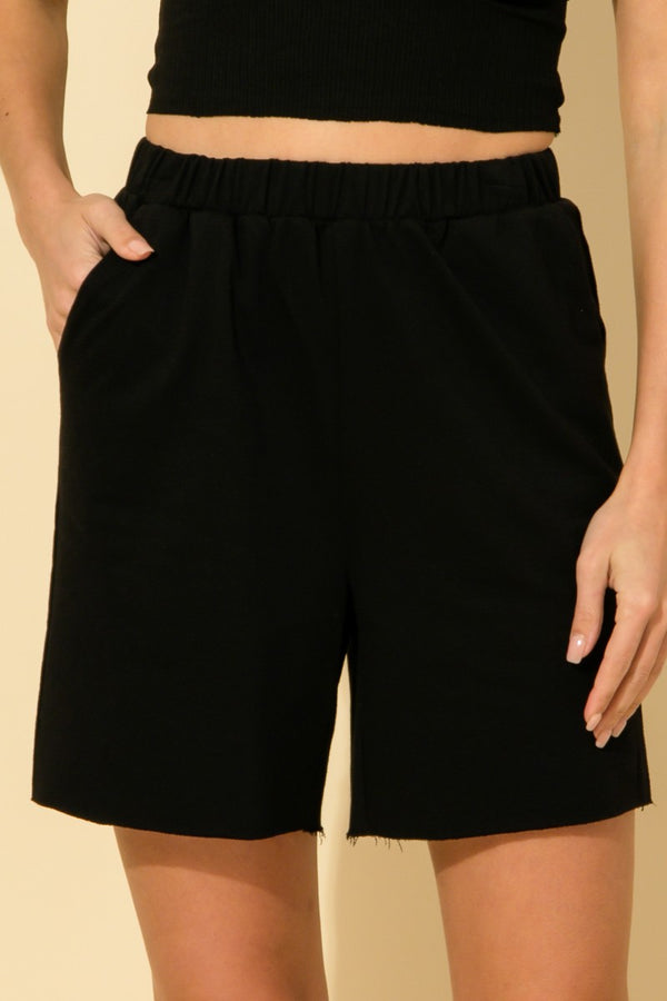 'Chill Tone' Shorts - Black