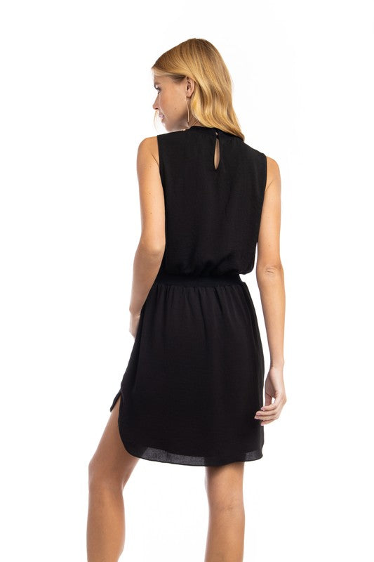 'Too Much To Say' Dress - Black