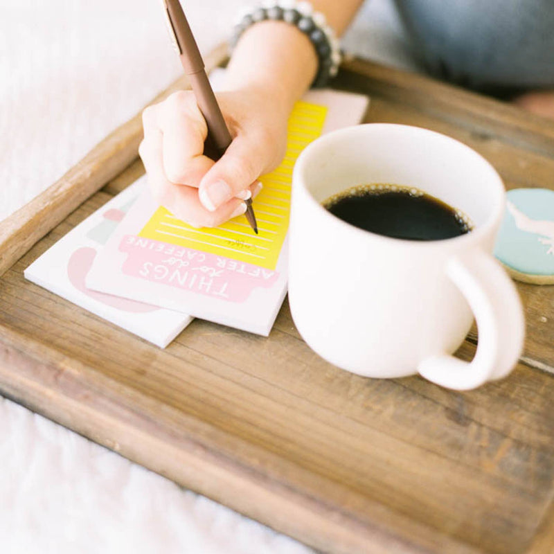 After Caffeine Magnetic Notepad