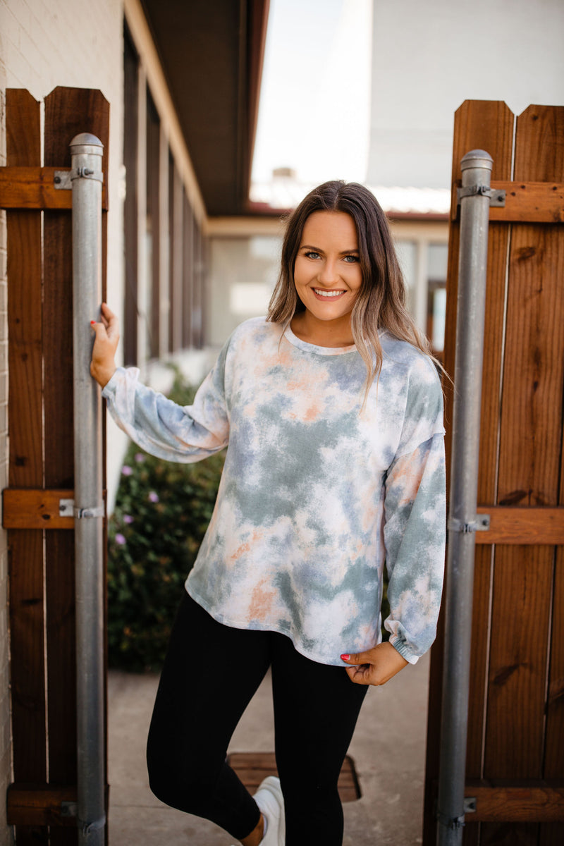Tie Dye French Terry Top