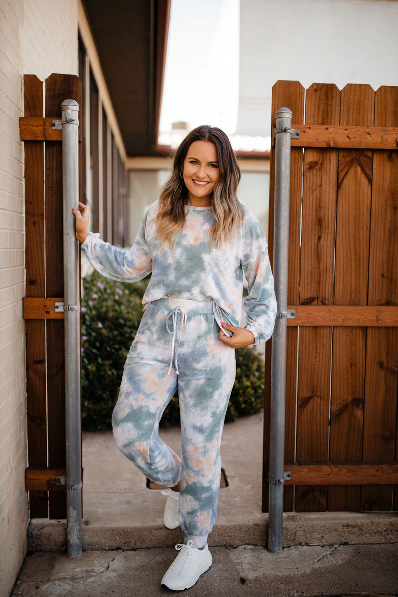Tie Dye French Terry Set